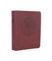 The Lutheran Study Bible - Luthers Rose - Brown/Burgundy