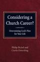 Considering a Church Career?