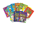 Juego completo de libros para colorear en español (7-Book Set of Spanish Coloring Books)