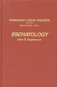Eschatology - CLD, Volume 13