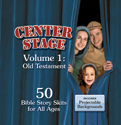 Center Stage: Bible Story Skits & Backgrounds Volume 1 - Old Testament