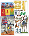 """Mighty Fortress Decorating Posters (4—43""""x 60"""") - VBS 2017"""