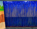 Blue Fringe Curtain (Large) - VBS 2018