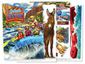 "Splash Canyon Decorating Posters (43"" x 60"") Set of 4 - VBS 2018"
