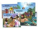 Bible Story Posters (5 Unique 22 x17) - VBS 2018
