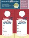 A Christmas Wonder Door Hangers