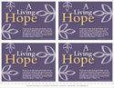 A Living Hope Postcards