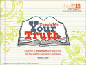 Teach Me Your Truth Wallpaper 1024 x 768