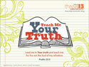 Teach Me Your Truth Wallpaper 1280x960
