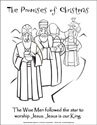 The Promises of Christmas Coloring Page - Wise Men