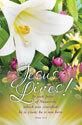 Standard Easter Bulletin: Jesus Lives