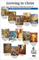 Old Testament 4 Bible Story Poster Set