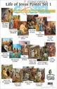 Life of Jesus Poster Set 1 – Donation
