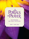 Portals of Prayer, large print, April-June edition