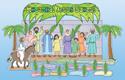 Palm Sunday Bulletin Board