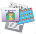 One in Christ - Grade 1 Baptism Birthday Cards and Stickers (Pack of 24)