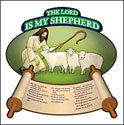 The Lord Is My Shepherd Bulletin Board