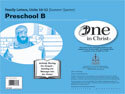 One in Christ - Preschool B Family Letter Packet (Units 10-12)