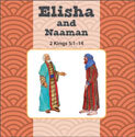 Elisha and Naaman/Job Flip Book