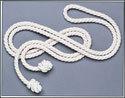 White Rope Benedictine Cincture