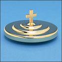 Brasstone Aluminum Bread Plate Cover