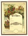 Vintage Baptism Certificate
