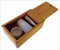 Pocket Communion Boxes - Oak