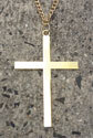 Gold Plate Clergy Cross