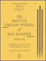 Master Organ Works of Jan Bender, Vol. 2