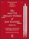 Master Organ Works of Jan Bender, Vol. 3