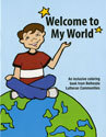 Welcome to My World Coloring Book: ENGLISH (Pack of 25)