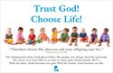 Trust God! Choose Life! Bulletin Insert