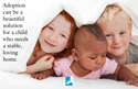 Adoption - A Beautiful Solution Bulletin Insert