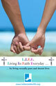L.I.F.E. - Living In Faith Everyday/Life Sunday Bulletin Insert