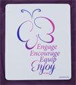 2015-2017 Butterfly Logo Mousepad