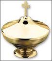 Brass Ash Pyx