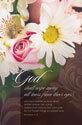 Standard Funeral Bulletin: God Shall Wipe Away