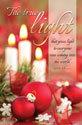 Standard Christmas Bulletin: The True Light Match - John 1: 9 (NIV)