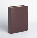 The Lutheran Study Bible - Sangria Bonded Leather - Thumb Indexed