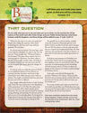 Blessed to Be a Blessing Devotion Bulletin Insert for Graduates
