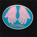 Service Pins (Pack of 12)