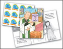 One in Christ - Grade 2 Baptism Birthday Cards and Stickers (Pack of 24)