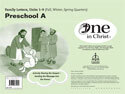 One in Christ - Preschool A Family Letter Packet (Units 1-9)