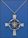 Luther's Rose Clergy Cross