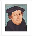 """Martin Luther Poster, 14"""" x 18"""""""