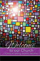 Welcome Folder: Welcome to Our Church (Pack of 12)