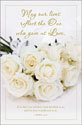 Standard Wedding Bulletin - May our lives reflect the One who gave us Love